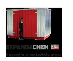 Expandachem hazardous materials store