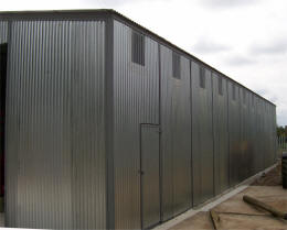 General Purpose sectional steel building