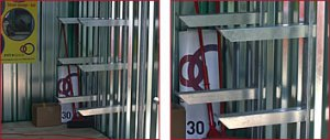 Heavy Duty Shelving Uprights and Arms