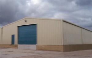 Steel Portal Frame Building