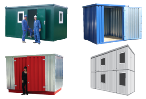 Expandarange flat pack stores and office cabins