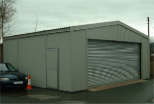 Sectional Steel Car Valeting Building