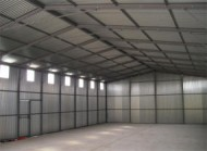 Sectional Steel Building Interior