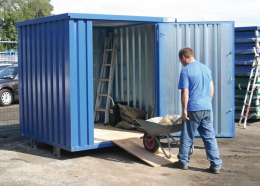expandastore secure site storage container
