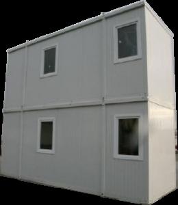 ExpandaCom man portable flat pack modular building