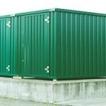 linked expandastore flat pack storage containers
