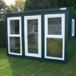 expandakabin optional fully glazed windows and door