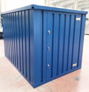 Blue Flat Pack Expandastore