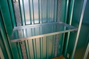 Expandastore sumped metal shelf