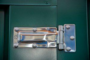 Flat pack Garden Store stainless steel hinge
